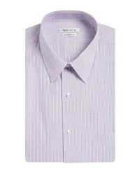 Van Heusen Stripe Cotton Dress Shirt Thistle
