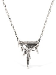Cantini Mc Firenze No War Necklace Silver