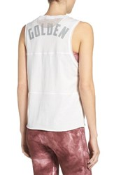 Free People Women's Fp Movement Home Run Tank White