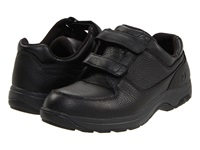 Dunham Winslow Black Polishable Leather Men's Hook And Loop Shoes