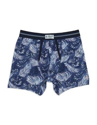 Original Penguin Palm Print Boxer Briefs Bright Blue