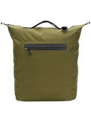 Ally Capellino Hoy Travel Cycle Backpack Green