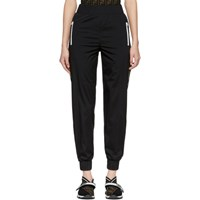 Black 'Forever Fendi' Ribbon Lounge Pants
