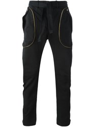 Faith Connexion Zip Detail Tapered Trousers Black