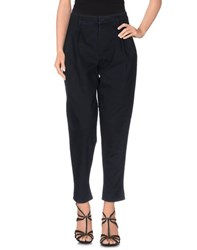 Prada Denim Denim Trousers Women Dark Blue