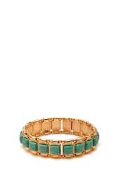 Forever 21 Faux Turquoise Stretch Bracelet