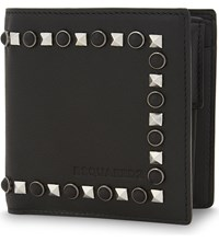Dsquared2 Studded Leather Wallet Nero