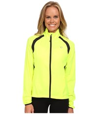Pearl Izumi W Elite Barrier Cycling Jacket Screaming Yellow Women's Workout