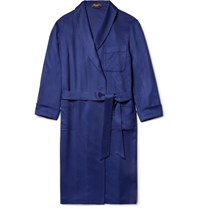 Loro Piana Cashere Robe Royal Blue