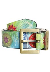 Desigual Kotao Belt Verde Multicoloured