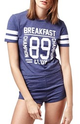 Women's Topshop 'Breakfast Club' Short Pajamas