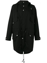Stella Mccartney Hooded Parka Black