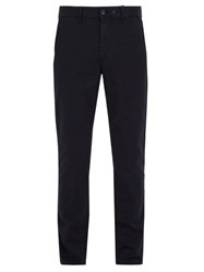 Rag And Bone Slim Fit Cotton Blend Chino Trousers Navy