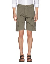 Alpha Studio Bermudas Military Green
