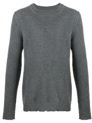 Zadig And Voltaire Eagle Crewneck Cashmere Sweater 60