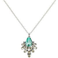 Monet Navette Necklace Aqua