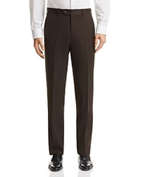 Bloomingdale's The Men's Store At Classic Fit Solid Dress Pants 100 Exclusive Brown