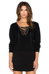 The Kooples Woman's Cashmere Sweater In Wool Black