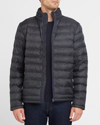 Wrangler Navy And Black The Thermal Contrasting Zip Down Jacket