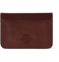 James Purdey And Sons Leather Cardholder Brown