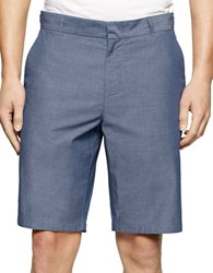 Calvin Klein Slim Fit Dress Shorts Blue Jean