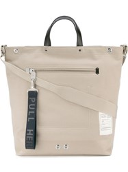 Kenzo 'Kanvas' Tote Nude And Neutrals