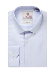 Skopes Men's Contemporary Collection Formal Shirt Blue