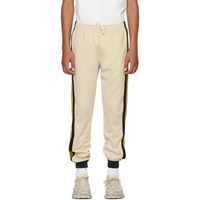 Gucci Beige Striped Lounge Pants