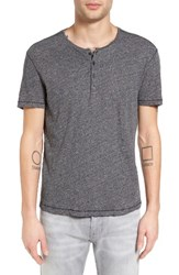 John Varvatos Men's Star Usa Short Sleeve Henley