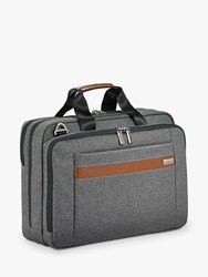 Briggs And Riley Kinzie Street 2.0 Medium Briefcase Grey