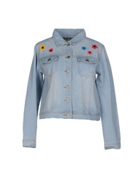 Brigitte Bardot Denim Outerwear Blue
