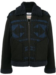 Coohem Loose Fit Navajo Style Jacket Black