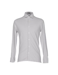 Rossopuro Shirts Light Grey
