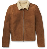 Valstar Shearling Jacket Light Brown