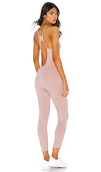 Free People Movement Side To Side Jumpsuit In Pink.