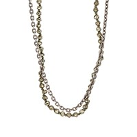 M. Cohen Double Strand Necklace Gold