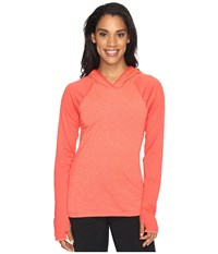 The North Face Reactor Hoodie Cayenne Red Women's Sweatshirt