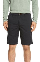 Tommy Bahama Men's Big And Tall 'Eastbank' Flat Front Shorts Black