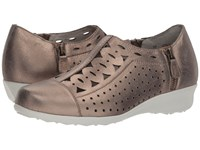 Drew Shoe Metro Taupe Dusty Leather Shoes