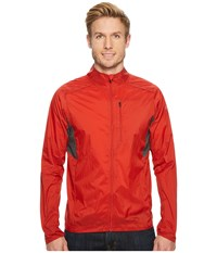 Smartwool Phd R Ultra Light Sport Jacket Tandoori Orange Coat