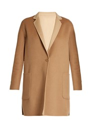 Max Mara Lillo Reversible Coat Camel