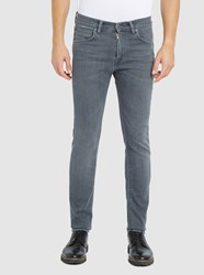 Edwin Faded Light Grey Ed 85 Stretch Tapered Slim Fit Jeans