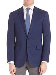 Ralph Lauren Purple Label Wool Serge Blazer Navy