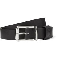Mcq By Alexander Mcqueen 2.5Cm Leather Belt Black