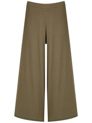 Lygia And Nanny Mariquita Radiosa Cropped Trousers Green