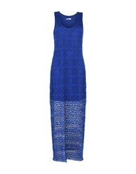Molly Bracken Long Dresses Blue