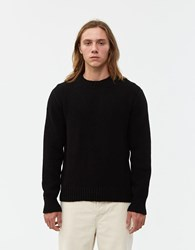 Our Legacy Base Roundneck Sweater Black