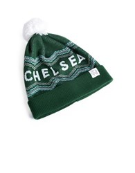 Tuck Shop Co. Chelsea Pompom Beanie Green