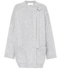 Chloe Wool And Cashmere Sweater Grey
