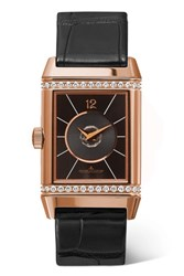 Jaeger Lecoultre Reverso Classic Duetto 24.4Mm Medium Rose Gold